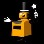 KalkMaster Comic Figur