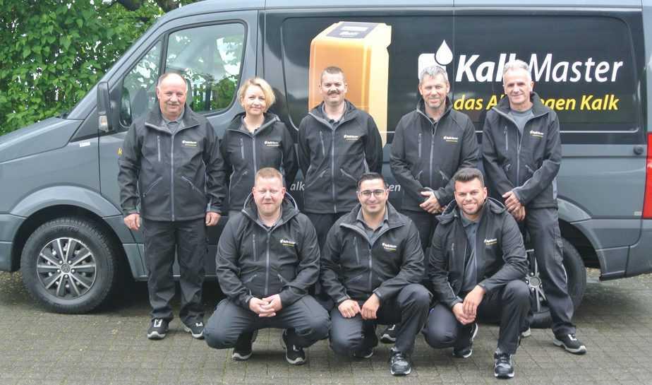 KalkMaster Team Gruppenfoto