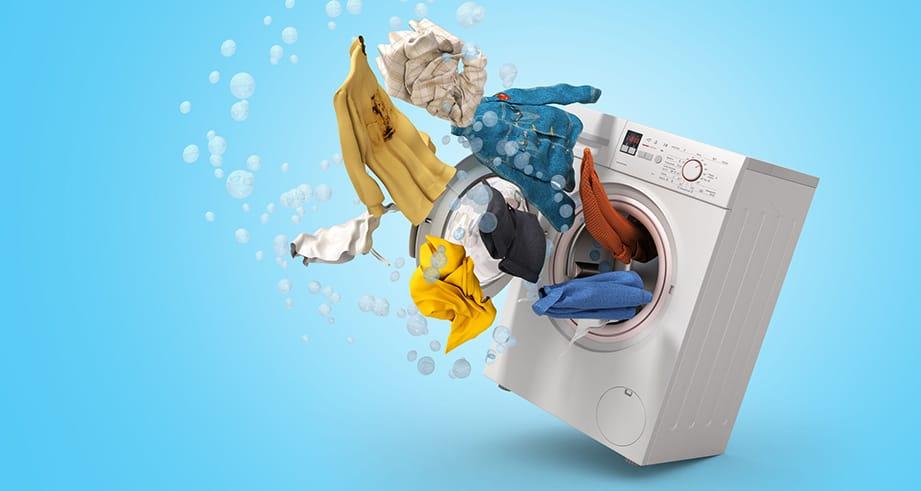 Beim Waschen auf die Vorwäsche verzichten