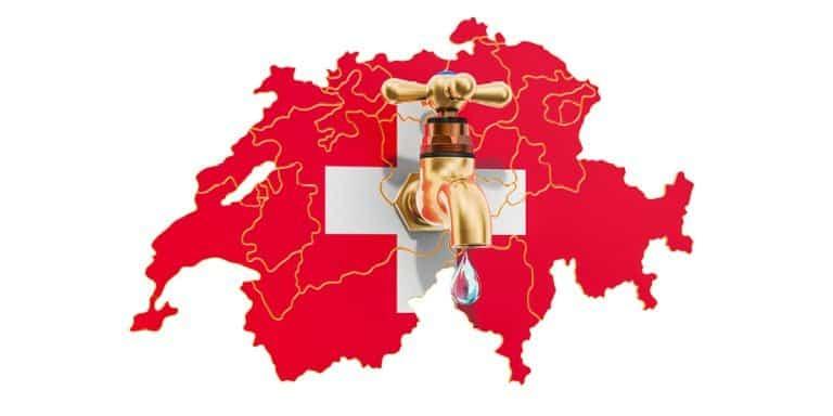 Wasserverbrauch Schweiz und andere Länder im Vergleich