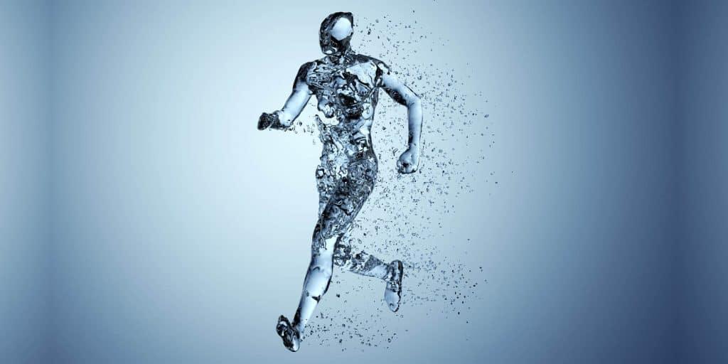 Was macht Wasser in unserem Körper?